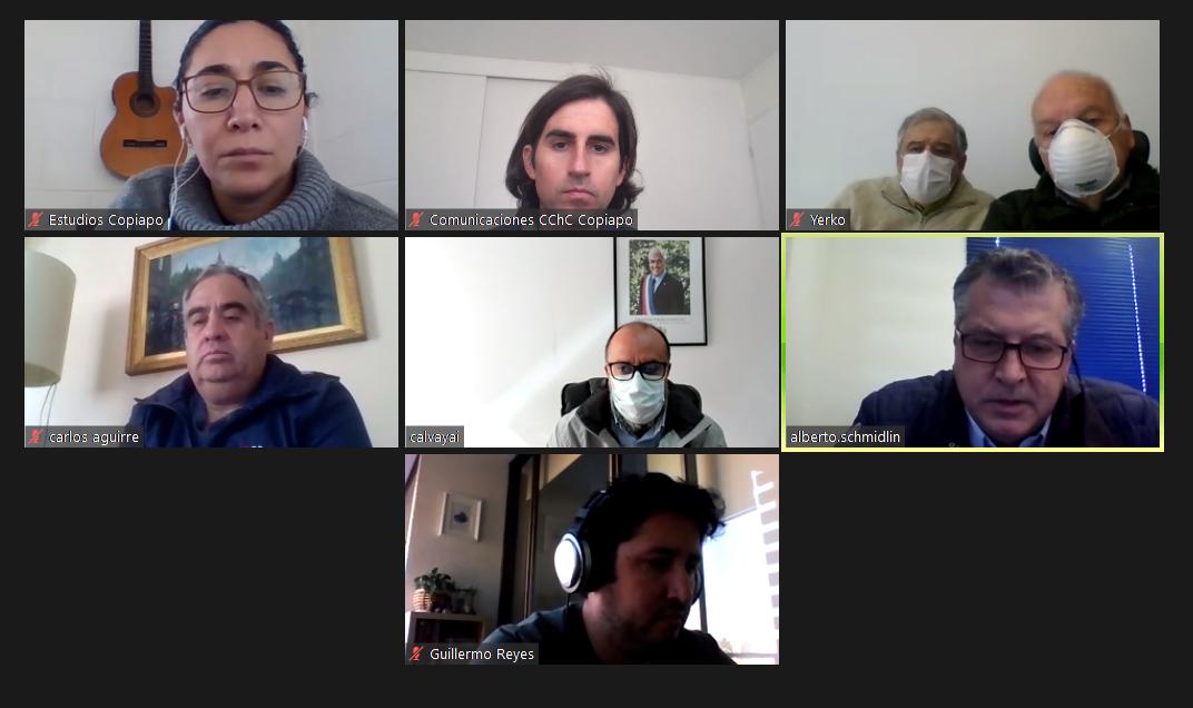 CChC Copiapó y Seremi de Minería conversan sobre ejecución de proyectos mineros en Atacama noticias