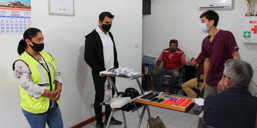 En la empresa Ríos San Martín comenzaron los operativos de salud de CChC noticias
