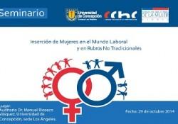 INVITAN A SEMINARIO SOBRE LA INSERCIÓN <mark>LABORAL</mark> FEMENINA  noticias