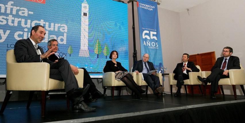 CChC Concepción organizó seminario sobre <mark>infraestructura</mark> y ciudad noticias