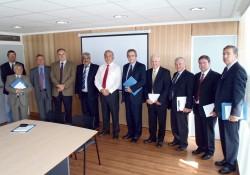 Mesa Directiva Nacional y Consejo Regional El Libertador visitan a Seremi MOP noticias