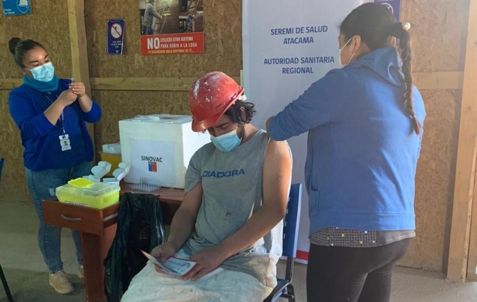CChC Copiapó continúa apoyando vacunación a trabajadores del sector construcción noticias