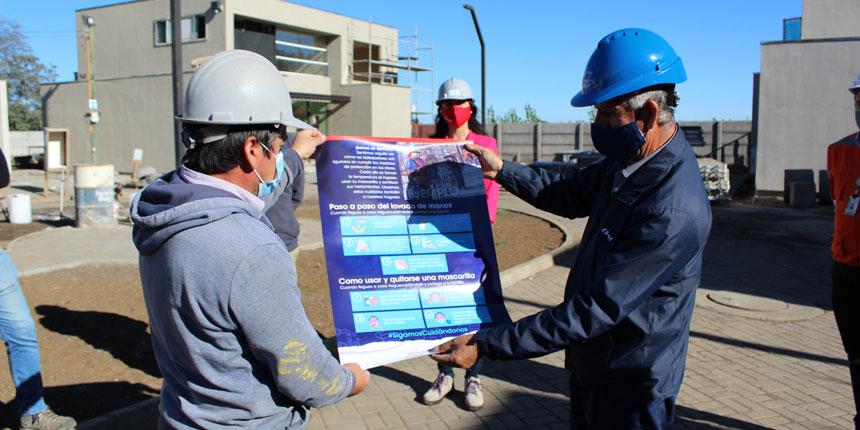 Cámara Chilena de la Construcción de Los Ángeles lanza campaña digital para enfatizar cuidados en pandemia  noticias