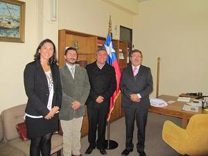 Apoyo Técnico y colaboración solicitó el Gobernador Provincial a la Cámara Chilena de la Construcción  noticias