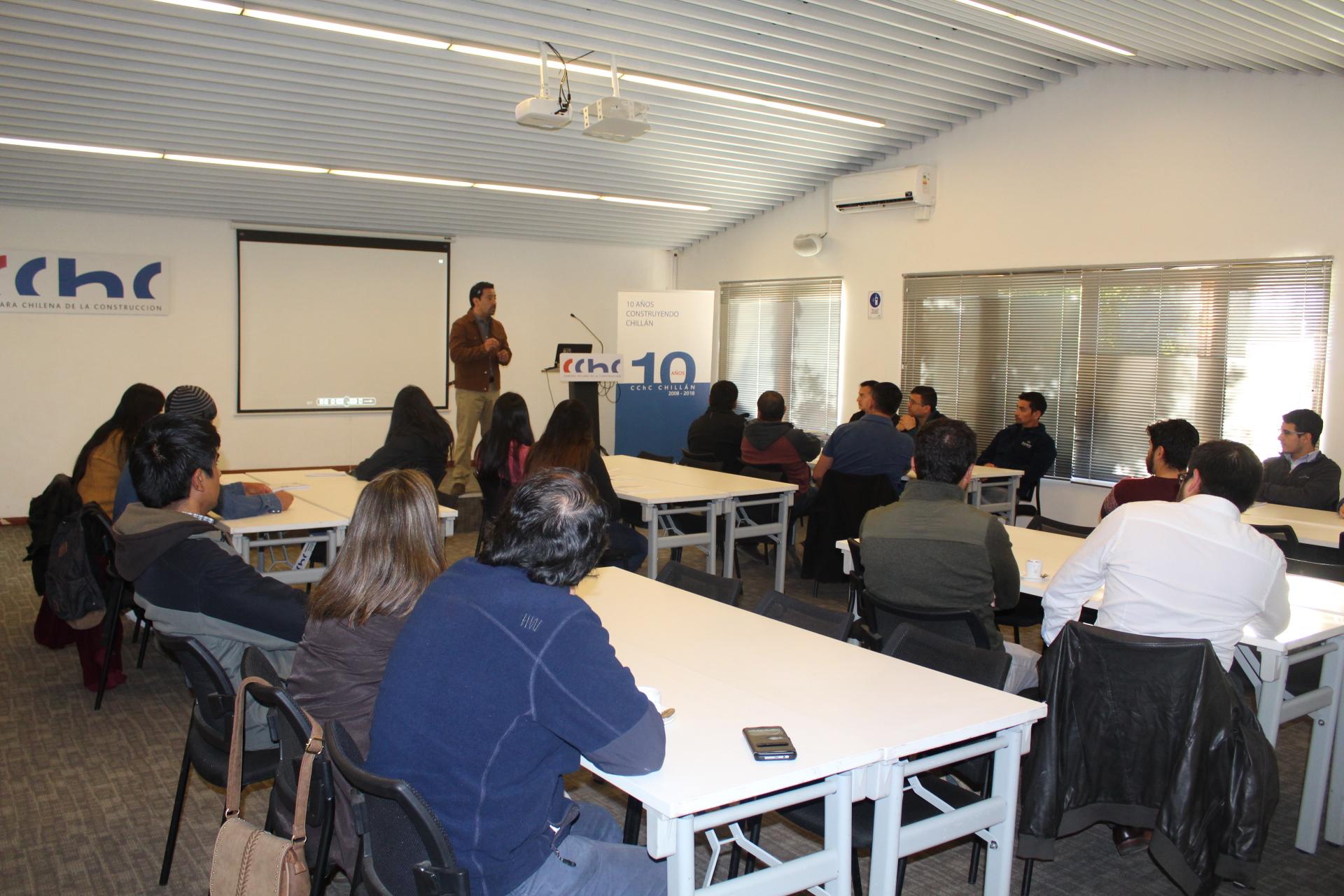 """CChC Chillán desarrolló seminario sobre """"Construyo Chile"""" noticias"""