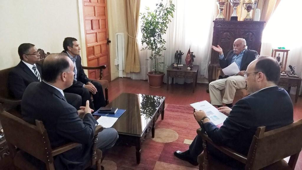 Directiva de Cámara Regional analiza temas de <mark>urbanismo</mark> con alcalde de La Serena noticias