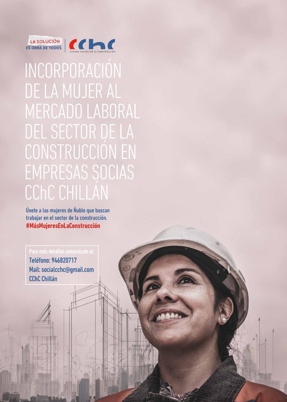 CChC Chillán capacitará a 10 mujeres como ayudantes de eléctrico noticias