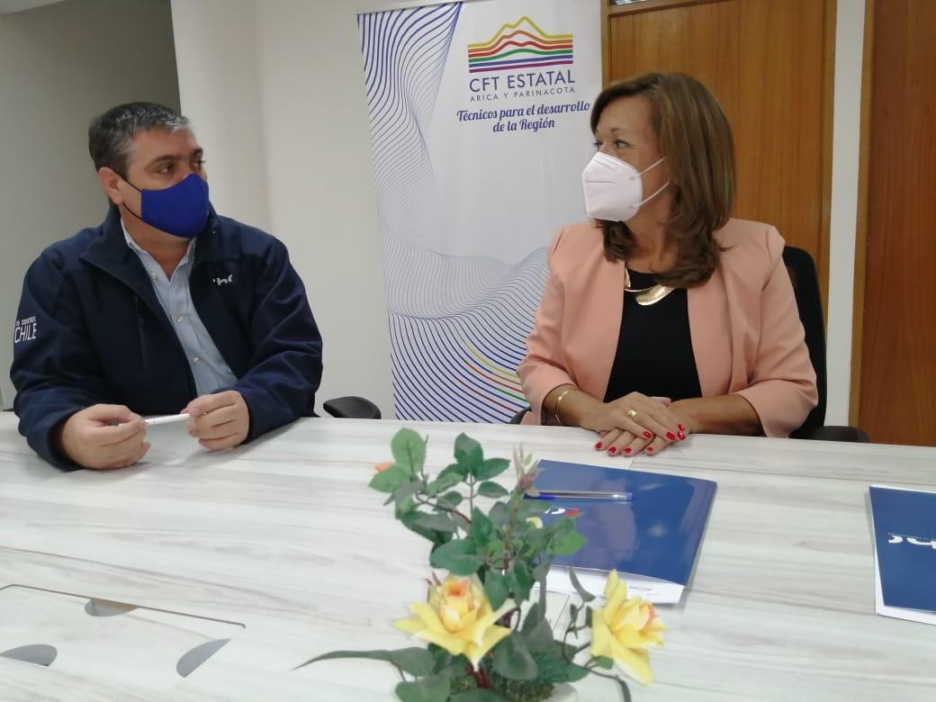 CChC Arica y CFT Estatal firman convenio de cooperación noticias