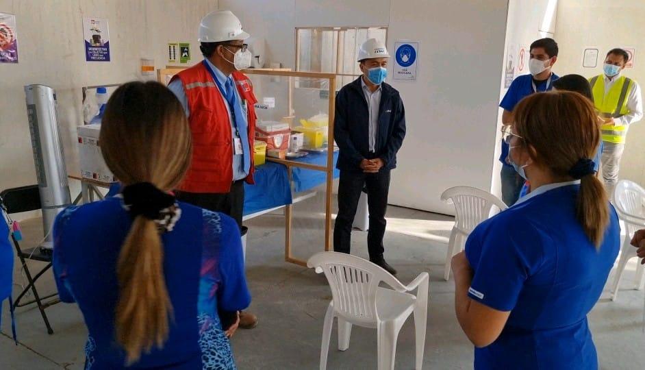 CChC Iquique coordina plan para incentivar y acercar lavacunación atrabajadores de Iquique y Alto Hospicio noticias