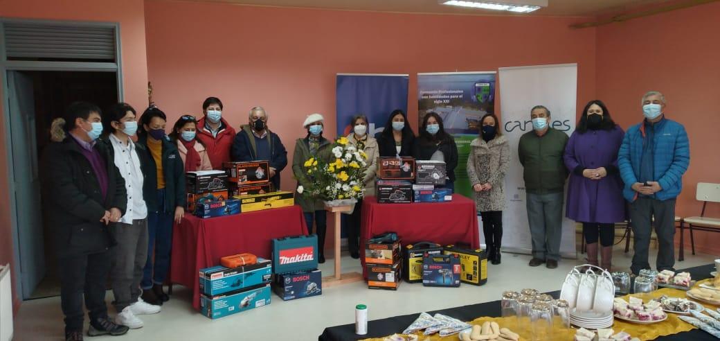 CChC Puerto Montt hace entrega de herramientas al Liceo Técnico Piedra Azul noticias