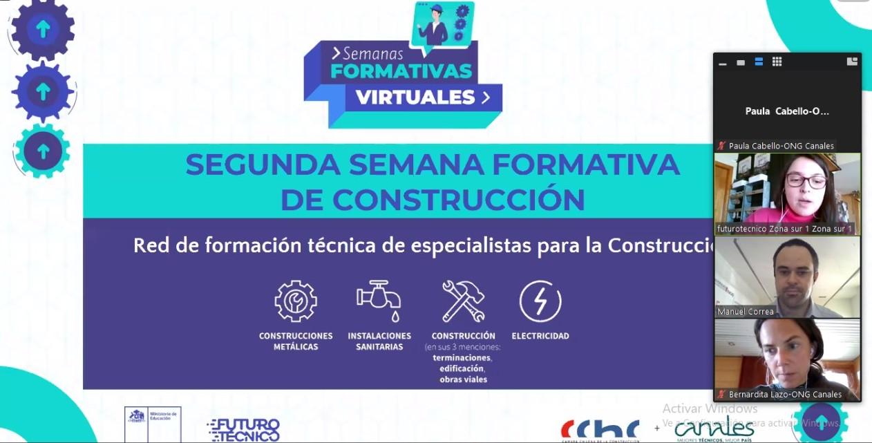 Más de 600 estudiantes de la industria de la construcción participan en Semana Formativa Virtual noticias