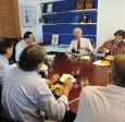 Catedrático italiano visitó CChC Valparaíso para compartir visiones sobre desarrollo urbano