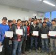 25  trabajadores de la construcción se certifican  en curso de topografía