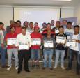 51 trabajadores de constructora concluyeron con éxito programa Formación en Obra