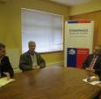 Cámara Chilena de la Construcción en Valdivia se reúne con Intendente de Los Ríos