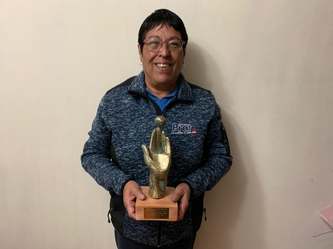 Premio Mujer Construye: Trabajadora fue reconocida en la primera versión del certamen organizado por la CChC noticias