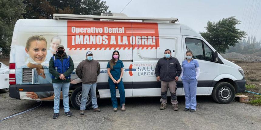 Más de 40 trabajadores fueron beneficiados con operativo dental en la empresa Áridos Alcides Vidal noticias