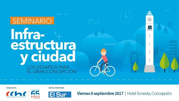 En Concepción: <mark>Infraestructura</mark> y Ciudad serán temas de seminario noticias