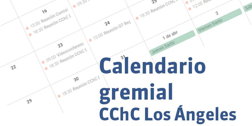 Calendario gremial de CChC Los Ángeles: charlas, eventos y reuniones en un solo lugar noticias