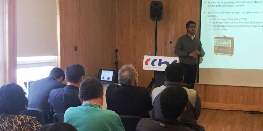 Consejero de la CChC Punta Arenas realiza presentación sobre eficiencia energética junto al CERE noticias
