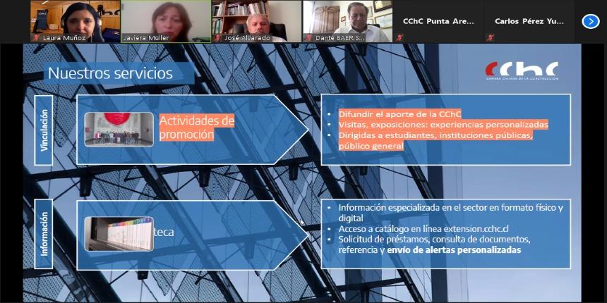 Socios de Punta Arenas conocieron servicios disponibles del Centro de Extensión CChC noticias