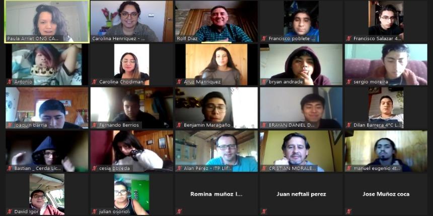 """Setenta estudiantes de Magallanes participaron de la """"Semana Formativa de la Construcción"""" noticias"""