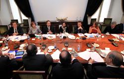 Comité de Ministros de <mark>Infraestructura</mark> se reunió con la directiva de la Cámara Chilena de la Construcción noticias