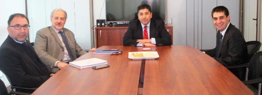 Directiva CChC Rancagua se reúne con seremi de Energía noticias