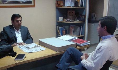 Presidente Delegación El Loa se reúne con director de Diario El Mercurio noticias