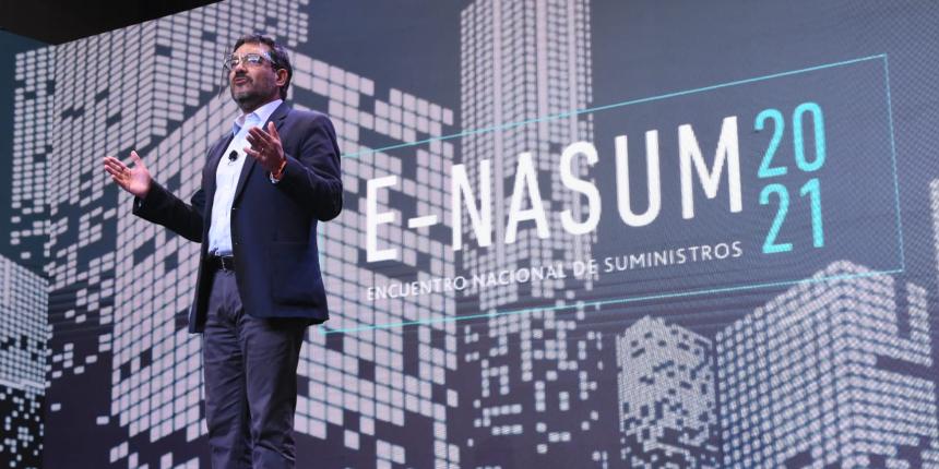 En la jornada de cierre de ENASUM 2021 se lanzó el indicador de transformación digital de suministros noticias