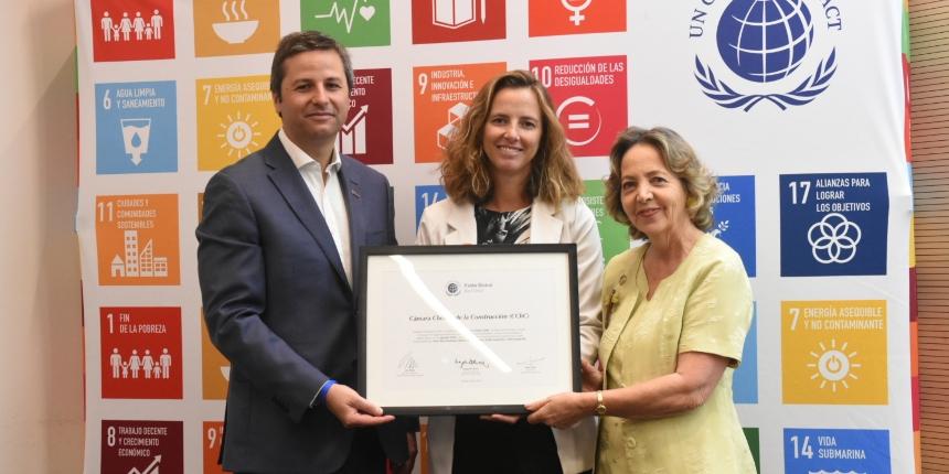 Firma de Pacto Global: CChC se suma a prácticas de sostenibilidad de la ONU noticias