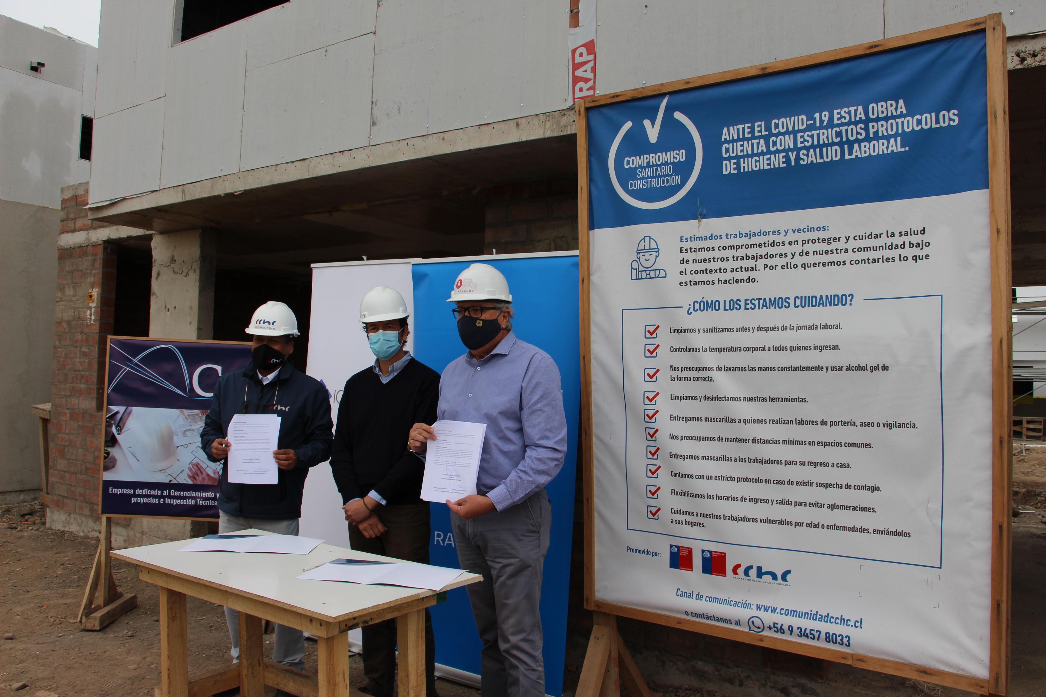 CChC Rancagua firma convenio de colaboración con I. Municipalidad de Rancagua noticias