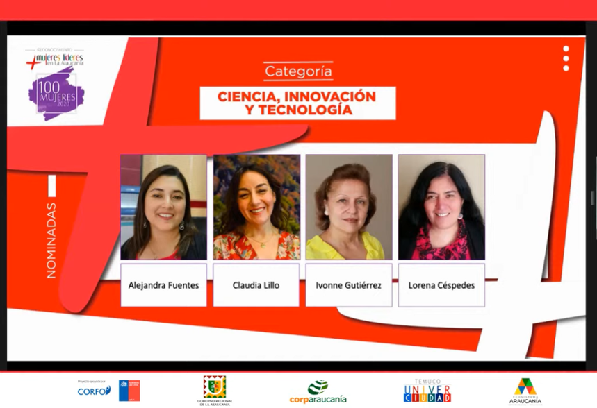 """Presidenta CChC Temuco reconocida entre las """"100 Mujeres Líderes de La Araucanía"""". noticias"""