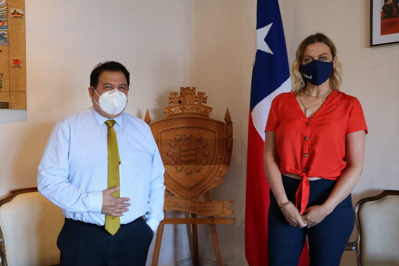 Presidenta CChC Valdivia se reunió con el Presidente del Core Los Ríos noticias