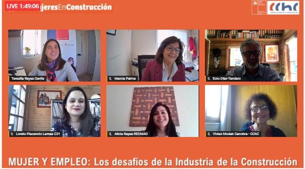 ANALIZARON EL ROL DE LA MUJER Y EMPLEO  EN LA INDUSTRIA DE LA CONSTRUCCIÓN noticias