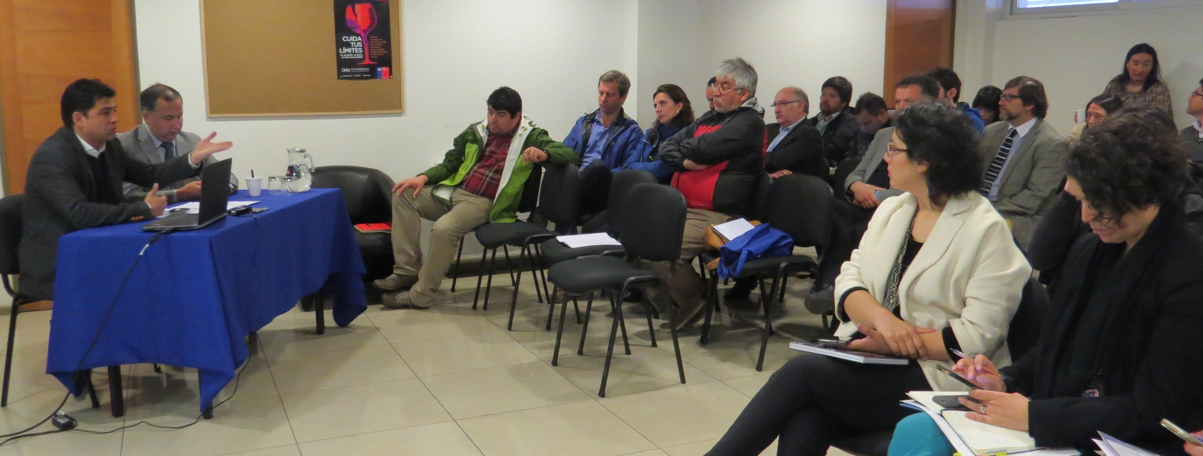CChC Valdivia participó en  reunión de la Mesa Regional de Descentralización e Inversión noticias