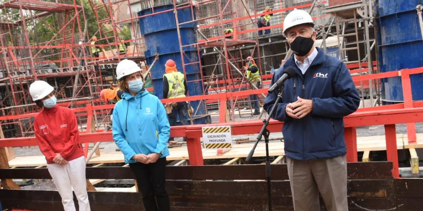 Autoridades verificaron medidas sanitarias impulsadas por la CChC en obras de construcción noticias
