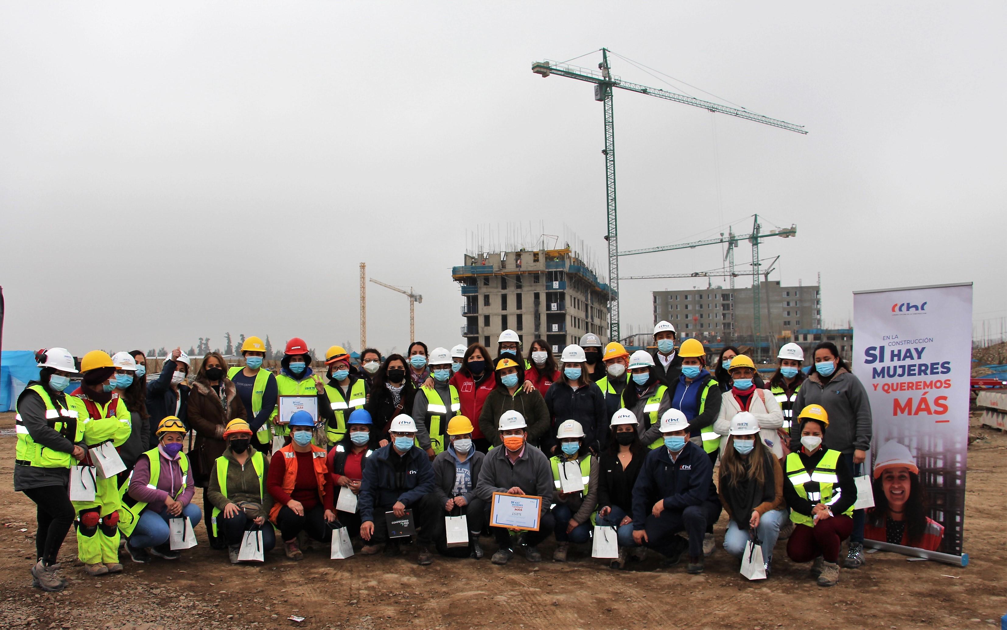 """CChC Rancagua destaca la participación femenina en el rubro y lanza campaña """"En la construcción, sí hay mujeres y queremos más"""". noticias"""