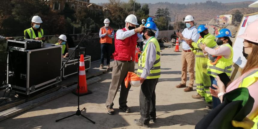 Autoridades destacan a la construcción como motor de la recuperación económica noticias