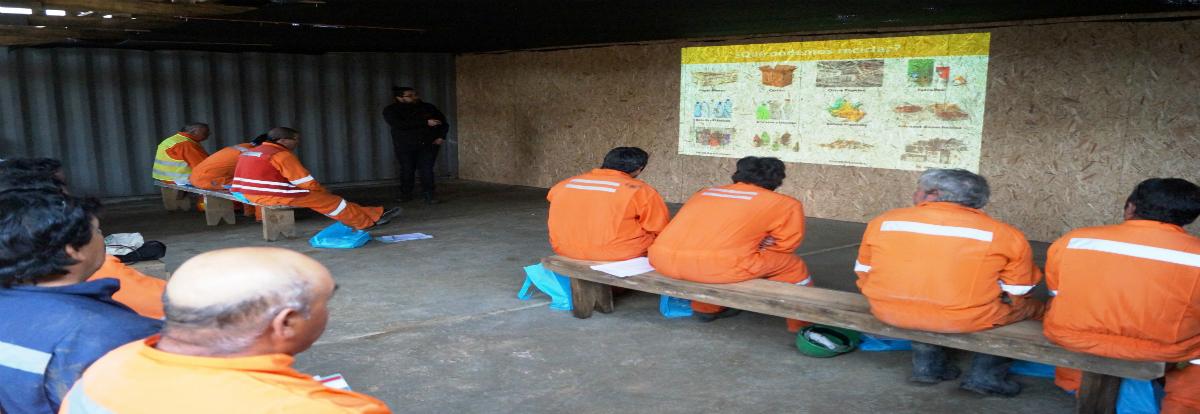 Trabajadores de constructoras Marín y Socovesa aprenden a ahorrar energía en sus hogares noticias
