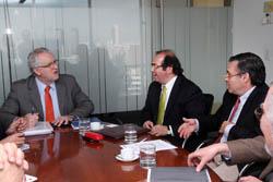 Presidente CChC se reúne con Ministro Energía noticias
