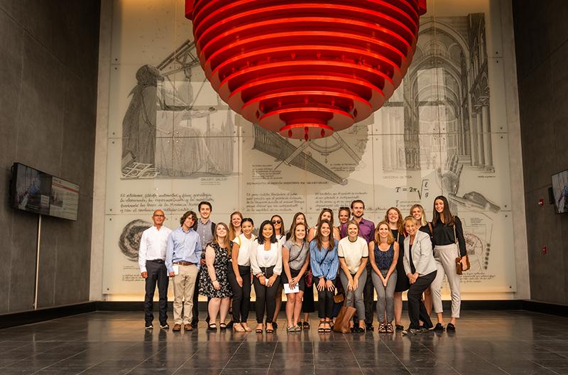 Estudiantes de universidades norteamericanas visitaron la CChC noticias