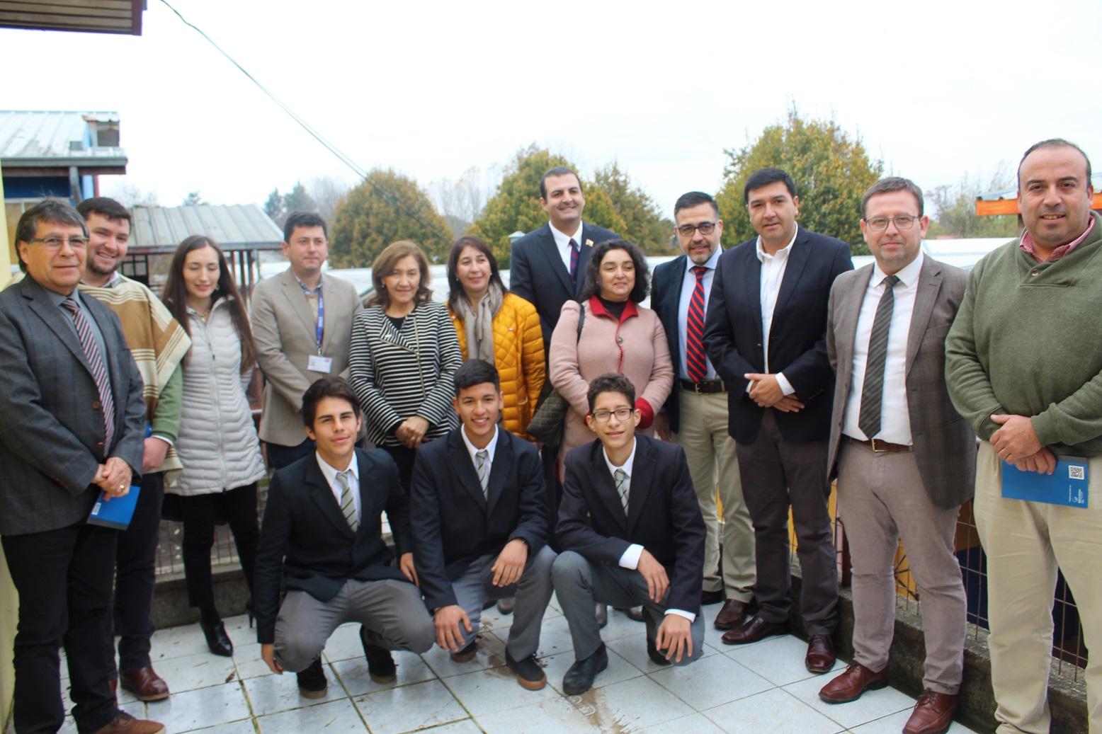 CChC Chillán inició programa de fortalecimiento educativo que beneficiará a colegios técnicos noticias