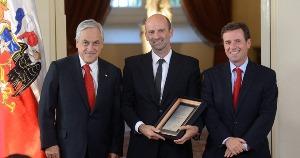 Presidente Piñera entregó Premio Nacional de <mark>Urbanismo</mark> al arquitecto Sergio Baeriswyl noticias