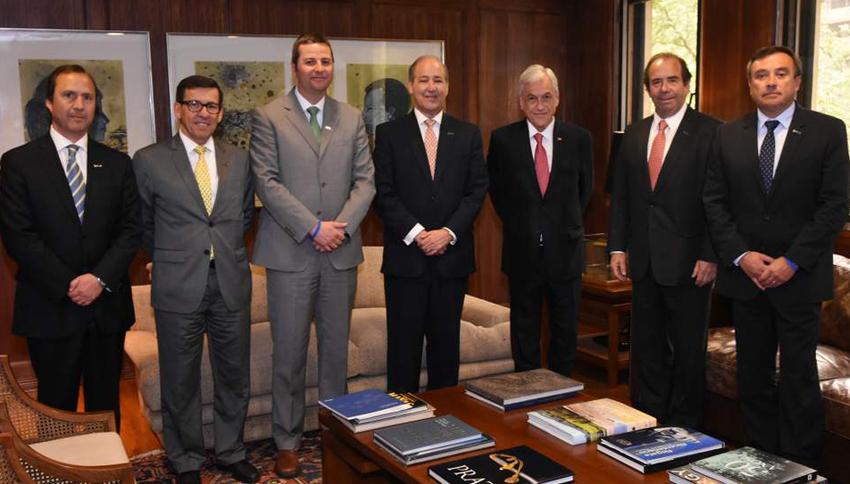 Cámara Chilena de la Construcción se reúne con Sebastián Piñera noticias