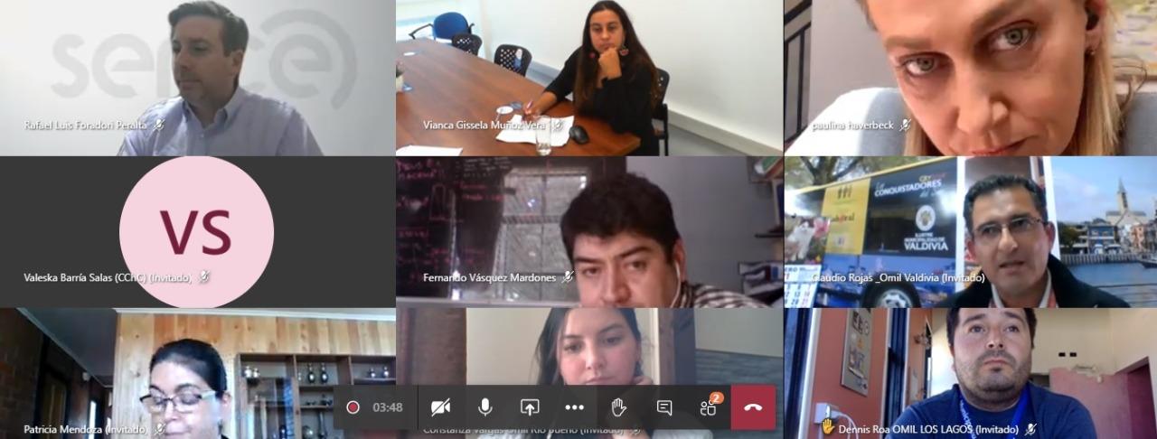 CCHC Valdivia, Seremi de Economía y OMIL de la región abordan demanda de mano de obra en la construcción noticias