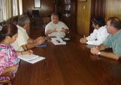 Consejo Regional se reune con el Intedente de Arica. noticias