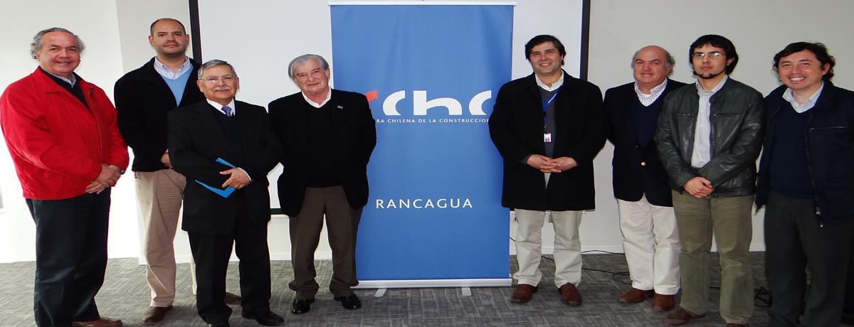 CChC Rancagua recibió a Director Servicio de Salud O'Higgins noticias