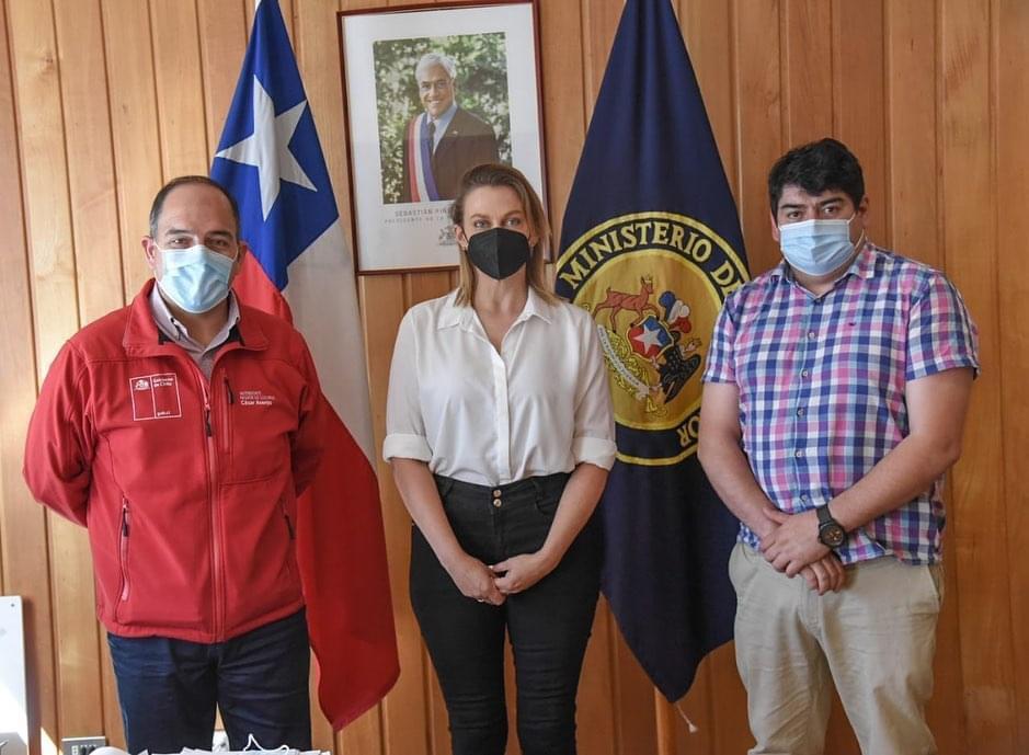 Presidenta de la CChC Valdivia se reúne con Intendente de la región de Los Ríos noticias