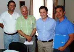 CCHC El Libertador se reúne con Director de SERVIU noticias